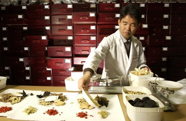 study traditional chinese medicine in huangzhou